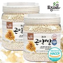 [토종마을]HACCP인증 귀리곤약쌀 1kg X2개(총 2kg)