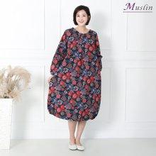 엄마옷 모슬린 꽃 항아리 홈웨어 HW8112370