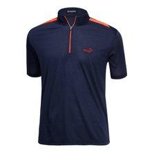 [파파브로]남성 여름 등산복 반팔 반집업 티셔츠 LM-HMK9-5082-1-네이비