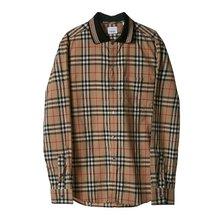 [버버리] 스트라이프 빈티지 체크 코튼 셔츠 8010214 M SLIM PK JSY COL A7028 /135881