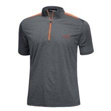 [파파브로]남성 여름 등산복 반팔 반집업 티셔츠 LM-HMK9-5082-2-차콜