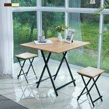 [까사마루] 접이식 테이블 세트 (테이블 1개 + 의자 2개)