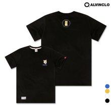 [앨빈클로] AST-3268 SHIBA DOG 반팔 티셔츠
