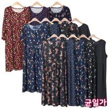 엄마옷 모슬린 원피스 홈웨어 균일가 13종 택1 여성 잠옷