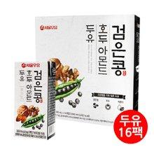 [서울우유] 검은콩 호두아몬드두유 190ml x 16팩