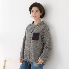 마담4060 엄마옷 별헤이는날셔츠 QBL902025