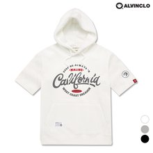 [앨빈클로] AST-3523 California 반팔 후드 티셔츠