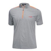 [파파브로]남성 여름 등산복 반팔 반집업 티셔츠 LM-HMK9-5082-5-그레이