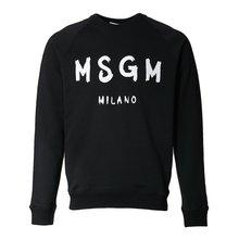 [MSGM] 브러쉬스트로크 로고 스웨트셔츠 2640MM104 195299 99 /135881