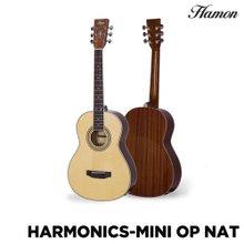 하몬 미니 통기타 Harmonics-Mini NAT 하모닉스 미니기타