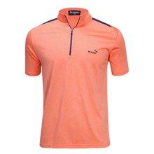 [파파브로]남성 여름 등산복 반팔 반집업 티셔츠 LM-HMK9-5082-6-오렌지
