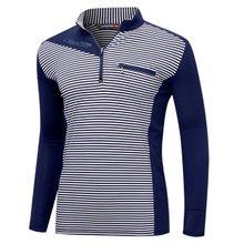 [파파브로]남성 국산 트레이닝 등산복 긴팔 티셔츠 MB-A9-MCS-네이비