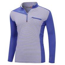 [파파브로]남성 국산 트레이닝 등산복 긴팔 티셔츠 MB-A9-MCS-블루