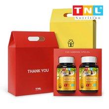 TNL 티앤엘 10종복합 멀티비타민 츄어블 3개월분(영국산비타민C) 2개입 선물세트
