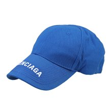 [발렌시아가]20SS 541400 410B2 4277 남녀공용 로고 볼캡 블루