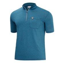 [파파브로]남성 여름 등산복 스판 반집업 반팔 티셔츠 MB-H9-MCC-CH-청록
