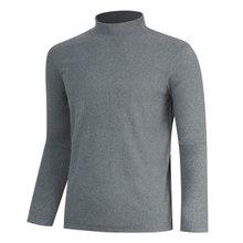 [파파브로]남성 목폴라 터틀넥 하이넥 반폴라 티셔츠 LM-YL9-PP-그레이