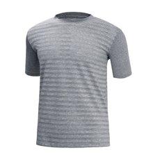 [파파브로]남성 여름 기능성 스판 라운드 반팔 티셔츠 MB-H9-MCCS-그레이