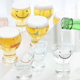 [선물패키지] 스마일 와글와글 맥주컵 6P+ 소주잔 6P