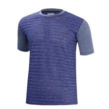 [파파브로]남성 여름 기능성 스판 라운드 반팔 티셔츠 MB-H9-MCCS-네이비