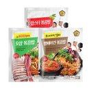 [이맛이라지] 유민상 김민경의 맛있는 볶음밥 3종(총 25봉)