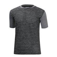 [파파브로]남성 여름 기능성 스판 라운드 반팔 티셔츠 MB-H9-MCCS-차콜