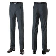 [파파브로]남성 원턱 기본 솔리드 양복 정장바지 PO-A7-981-진그레이