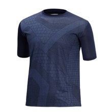 [파파브로]남성 여름 기능성 스판 라운드 반팔 티셔츠 MB-H9-MCC-네이비