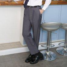 [파파브로]남성 클래식 원턱 양복 수트 정장바지 LO-A9-95-그레이