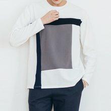 [단군] 앤드배색티셔츠