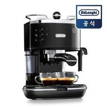 [드롱기] 아이코나 반자동 커피머신 블랙 ECO311.BK