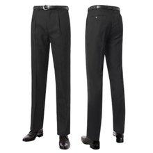 [파파브로]남성 시원한 여름 양복 수트 기본 정장바지 PS-S9-101-블랙