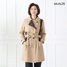 엄마옷 모슬린 클래식 레이어드 자켓 JK902042