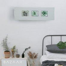 [바자르] 아트릭 스판 에어컨커버 (벽걸이형)