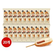 [신세계올반] 찰핫도그 80g*20팩 (치즈+소세지)
