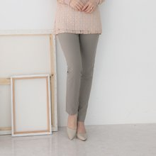 마담4060 엄마옷 일자포켓배색팬츠 QPN903003
