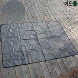 이드나인 수노아 도비원단 등산캠핑 방수시트(특대150X210cm)