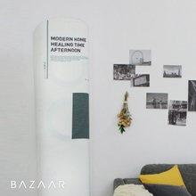 [바자르] 컬러칩 스판 에어컨커버 (스탠딩형)
