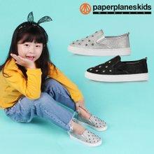 [페이퍼플레인키즈] PK7822 아동 슬립온 유아 단화 남아 여아 주니어 운동화 어린이 신발 슈즈 아기
