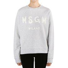 [엠에스지엠] 로고 2642MDM189 195297 94 여자 긴팔 맨투맨 티셔츠