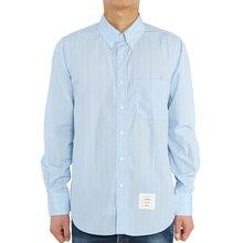 [톰브라운] 포플린 스트라이프 MWL272A 06126 480 남자 긴팔 셔츠 스트레이트 핏