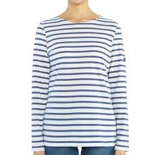 [세인트제임스] 밍콰이어 스트라이프 0237 NEIGE VOYAGE 여자 긴팔티셔츠