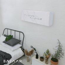[바자르] 마블리아 스판 에어컨커버 (벽걸이형)