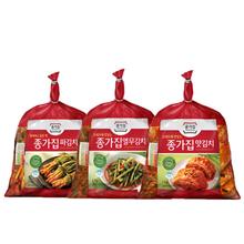 [종가집] 파김치1kg+맛김치1kg+열무김치1kg
