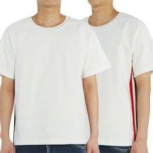 [톰브라운] 인터락 삼선 MJS114A 06168 100 남자 반팔티셔츠
