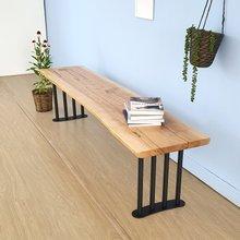 우드인미 박달나무 긴벤치 1800 원목의자/원목식탁의자/벤치의자/카페의자