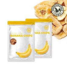 [산과들에] 바나나칩 500gx4봉+구운바나나칩 350gx4봉