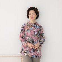 마담4060 엄마옷 촘촘주름블라우스 QBL903004
