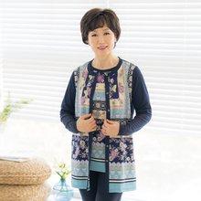마담4060 엄마옷 꽃길앙상블세트-ZEN005001-