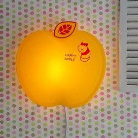 happy 애플 벽등 (옐로우)